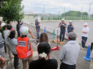 鴨志田第一小学校地域防災拠点・防災訓練のご案内