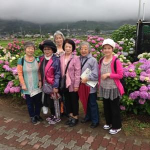 6月9日  たちばな会の日帰り旅行が行われました。
