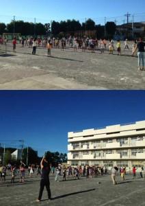 7/21〜24 一丁目子ども会ラジオ体操か行われました。