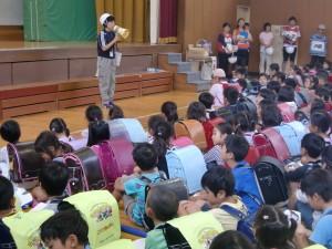8月29日 鴨志田第一小学校地域防災拠点・総合防災訓練を実施しました。