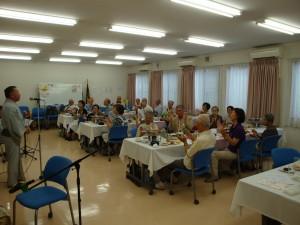 9月13日 町内会の敬老会が行われました。