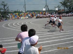 10月3日鴨志田第一小学校の運動会が行われました。