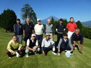ゴルフ部「発足記念」 第1回コンペが実施されました