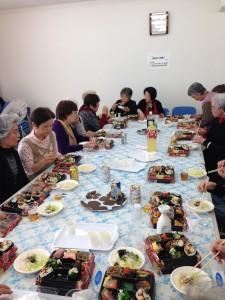 1月19日(火)に、たちばな会の定例会・新年会が行われました