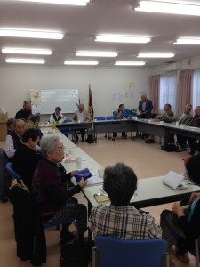 5月17日  たちばな会の総会が行われました。