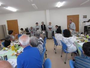 9月11日 町内会主催の「敬老会」が行われました