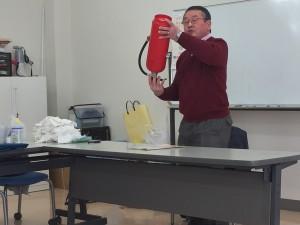 2月19日 町内会 防災訓練が実施されました