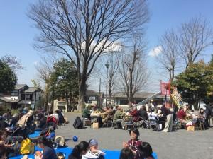 4月3日(月曜日)に社協のお花見に参加させていただきました。