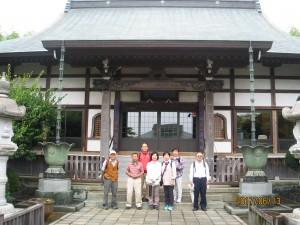 宗栄寺と臼井さん
