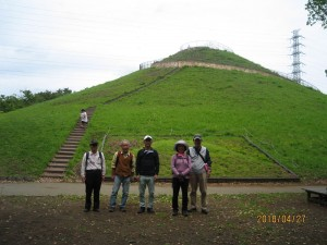 都筑の三富士塚巡り