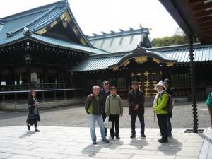 第14回ゆっくり散歩の会。千代田城の御城内と九段周辺