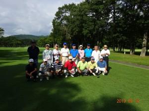 第35回たちばな台ゴルフコンペ