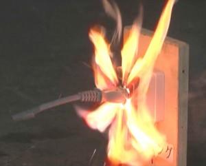 通電火災について点検のお願い