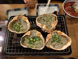 6.名物 蟹味噌甲羅焼き