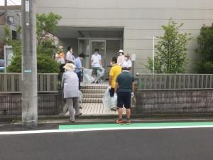 6月27日 町内一斉清掃(クリーンウォーキング)が実施されました
